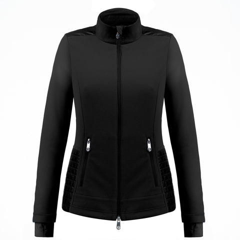 Poivre Blanc Hybrid Jacket W19 1601 WO in Black