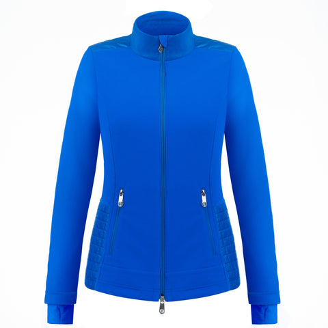 Poivre Blanc Harriet Hybrid Jacket 1601 in True Blue front