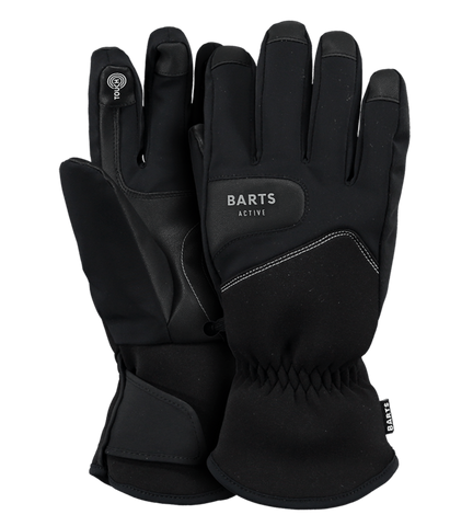Barts Mens Touch Ski Gloves in Black
