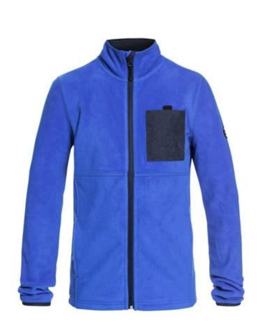 Quiksilver Butter Technical Zip-Up Fleece Boys 8-16 Daphne Blue