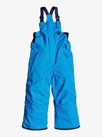 Quiksilver Boys Boogie Snow Pant in Brilliant Blue Front