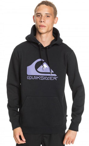 Quiksilver Square Me Up Hoodie for Men in Black