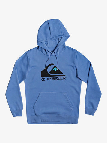 Quiksilver Square Me Up Hoodie for Men in Blue Yonder