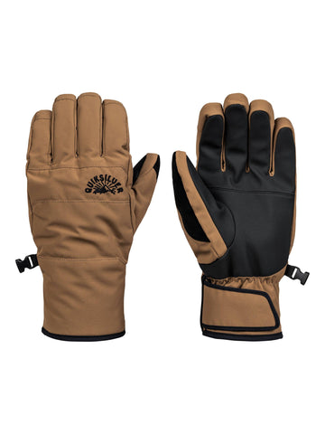 Quiksilver Cross Gloves in Otter