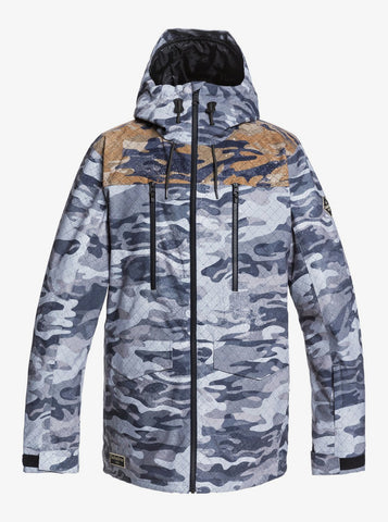 Quiksilver Fairbanks Snow Jacket for Men in true black Gps Point