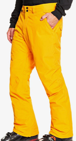 Quiksilver Estate Snow Pants for Men in Flame Orange