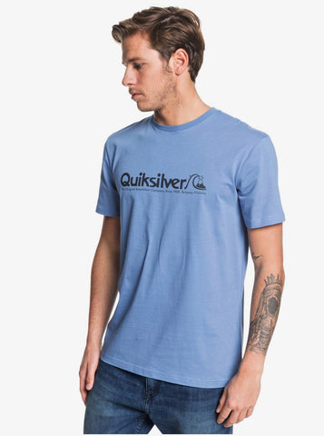 Quiksilver Modern Legends Short Sleeve T Shirt in Blue Legend