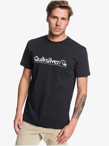Quiksilver Modern Legends Short Sleeve T Shirt in Black