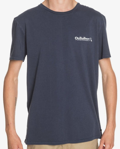 Quiksilver Sun Damage T-Shirt for Men in Parisian Night Style EQYZT06100-BYP0