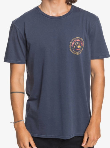 Quiksilver Devils Wink TShirt for Men in Parisian Night Style EQYZT06102- BYP0