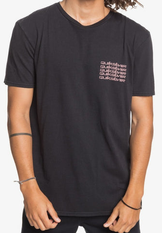 Quiksilver Beta Test T-Shirt for Men in Black style EQYZT06105-KVJ0