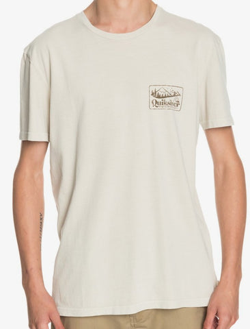 Quiksilver Old Habit T-Shirt for Men in Parchment Style:  EQYZT06119-TEC0