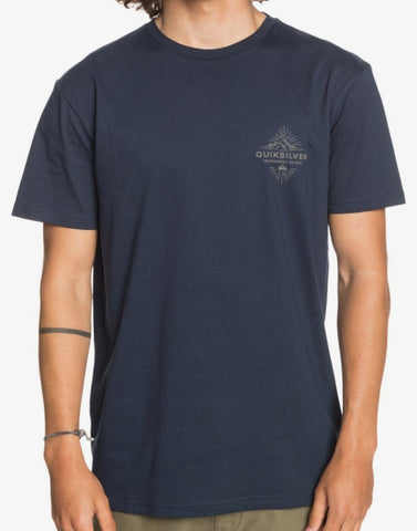 Quiksilver Before Lights T-Shirt for Men in Navy Blazer Style: EQYZT06128-BYJ0