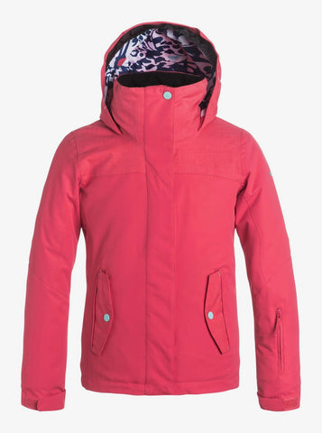 Roxy Jetty Girls Ski Jacket Paradise Pink Style: ERGTJ03016