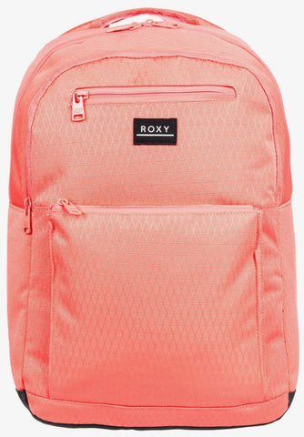 Roxy Here You Are 24L Backpack in Deep Sea Coral Style:  ERJBP04158-MLF0
