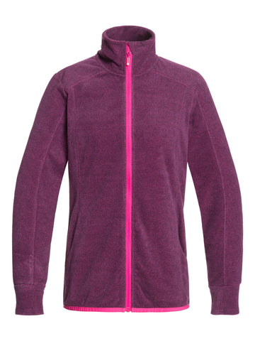 Roxy Harmony FZ Womens Fleece in Beetroot Pink