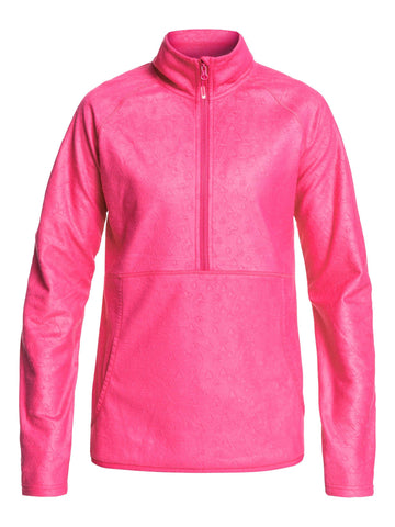 Roxy Cascade Womens Fleece in Pink