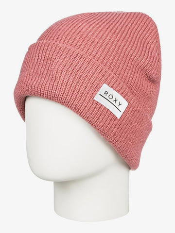 Roxy Harper Womes Cuff Beanie in Dusty Rose Style: ERJHA03730-MKP0