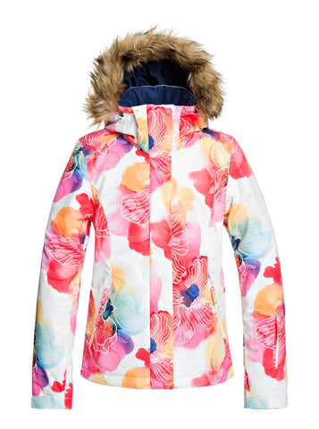 Roxy Jet Ski Womens Ski Jacket in Aquarel Flower