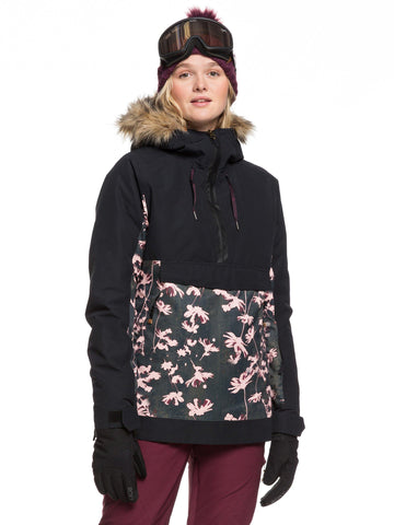 Roxy Shelter Womens Ski Jacket in Poppy