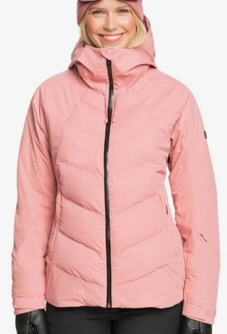 Roxy Dusk Snow Jacket for Women in Dusty Rose Style: ERJTJ03258- MKP0