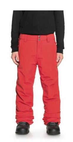 Quiksilver Estate Snow Pants for Boys 8-16 Flame