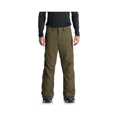 Quiksilver Estate Mens Snow Trousers Grape Leaf
