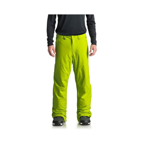 Quiksilver Estate Mens Snow Trousers Lime Green