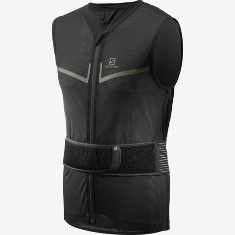 Salomon Flexcell Light Vest Mens Back Protector Black