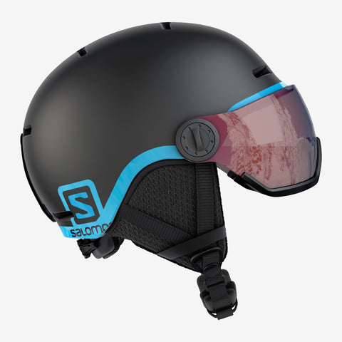 Salomon Grom Visor Helmet Black in Medium