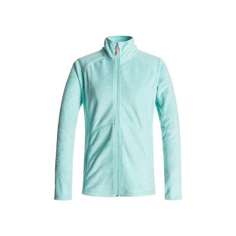 Roxy Harmony Ladies F/Z Fleece Aruba Blue
