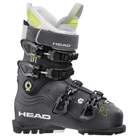 Head Nexo LYT 110 RS Women's Ski Boot in Anthracite and Black