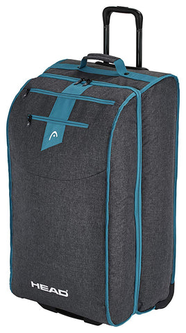 Head Women's Travel Bag Wheely Anthracite/Blue 105L