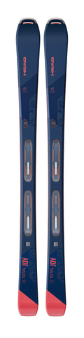 Head Total Joy Skis with Attack 11 binding in 158cm