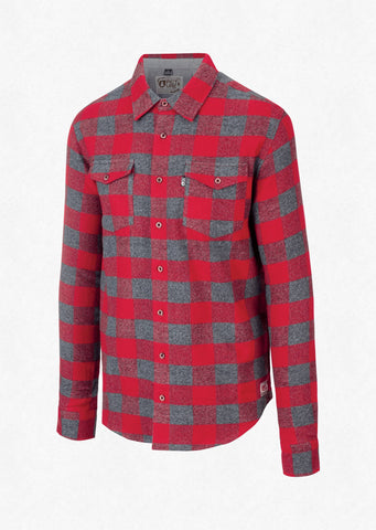 Picture Organic Clothing Men's Hillsboro Shirt in Red
