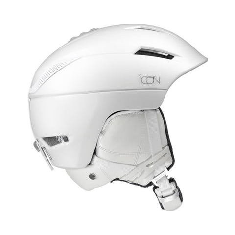 Salomon Icon 2 C.Air Ski Helmet in White 391240