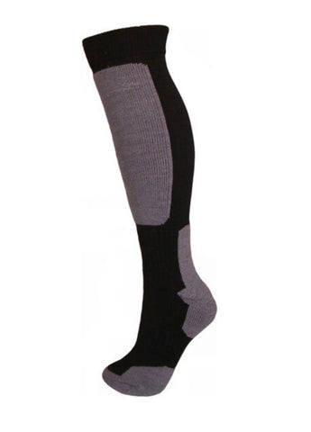 Snow Tec Ski Snowboard Socks Grey