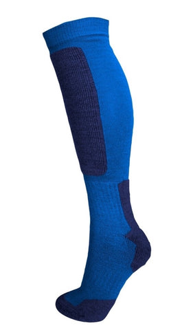 Snow Tec Kids Ski Snowboard Socks Olympic Blue/Navy