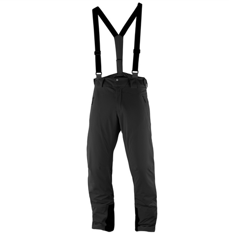 Salomon Iceglory Mens Ski Pant in Black