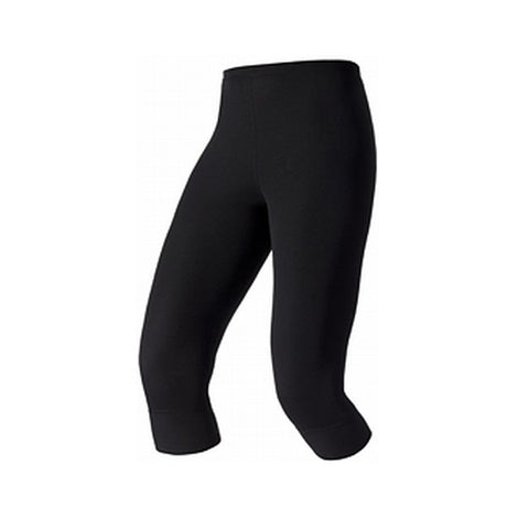 Odlo Ladies Warm Thermal 3/4 Pants Black