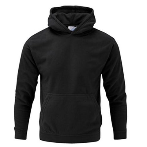 Kids Thermal Micro Hoody Black