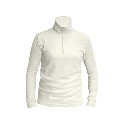 Mens Thermal Micro Fleece Ecru