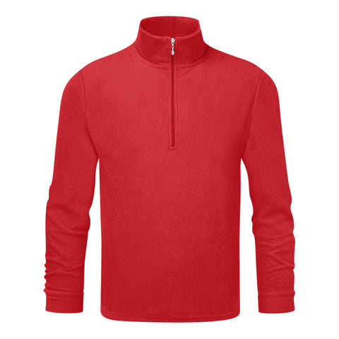 Mens Thermal Micro Fleece Red