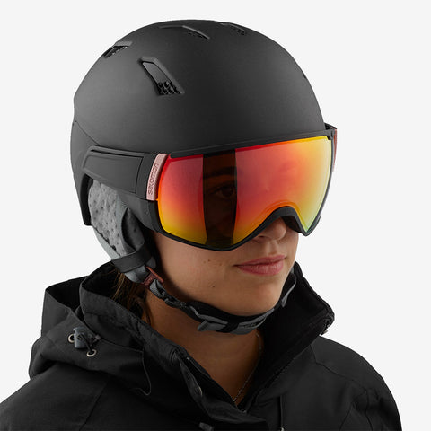 Salomon Mirage+ Ski Helmet with Photochromic lens in Medium