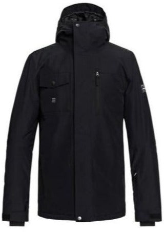 Quiksilver Mission Snow Jacket for Men Black