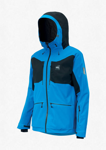 Picture Organic Clothing Men's Naikoon Snow Jacket in Blue