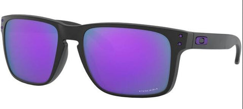 Holbrook XL in Matte Black with Prizm Violet Lens