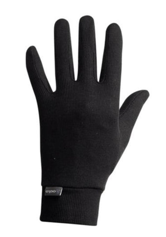 Odlo Adult Warm Thermal Glove Liners Black