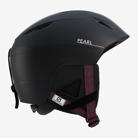 Salomon Pearl2+ Ski Helmet in Black