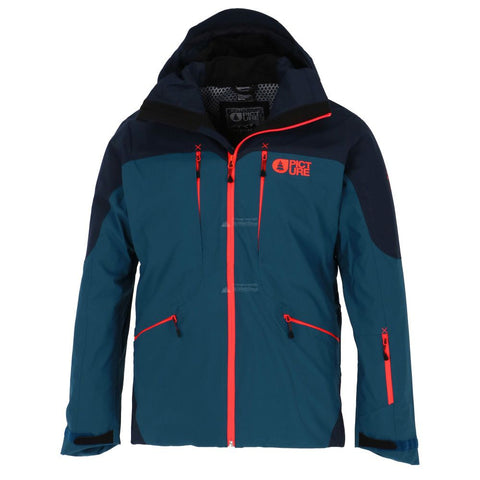 Picture Naikoon Mens Jacket in Petrol Blue